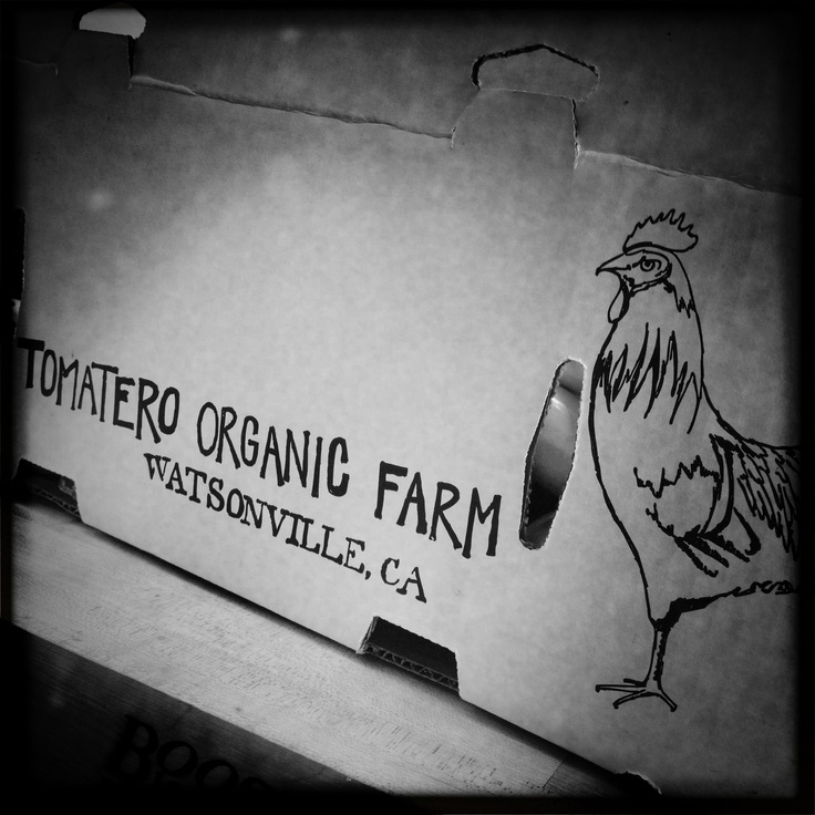 our eggs and about 65% of our produce comes from here.
