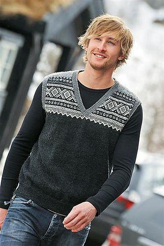 Ravelry: Marius-Vest pattern by Sandnes Design