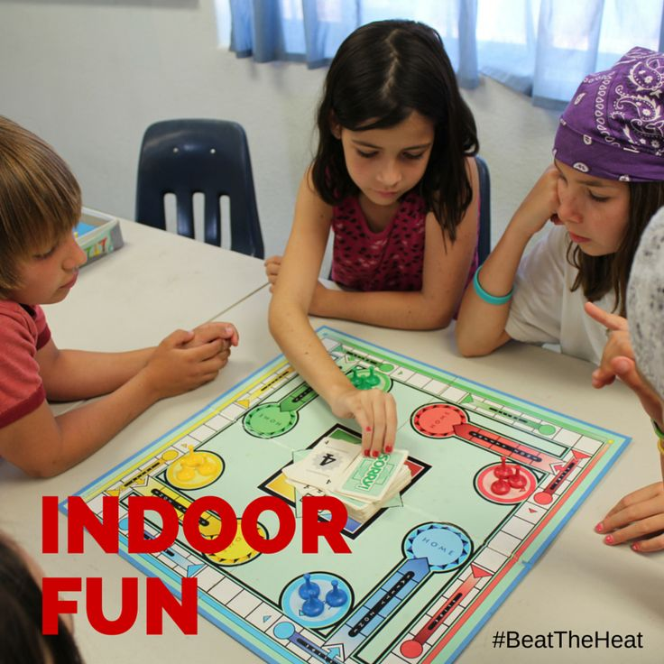 #SummerTip #3 Head indoors when the heat gets unbearable, try indoor activities & games