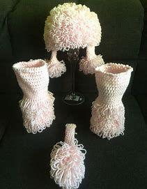 Image result for Crochet Poodle Hat