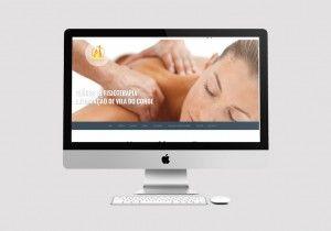 Website criado para a Clínica de Fisioterapia Fisiorégio.