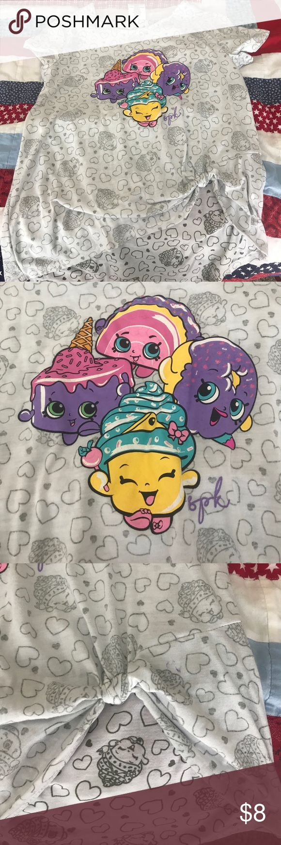 Shopkins T Cute Tshirt for the shopkins lover in your life. Has a side tie built in. Smoke free home. Bundle to save even more. shopkins Shirts & Tops Tees - Short Sleeve