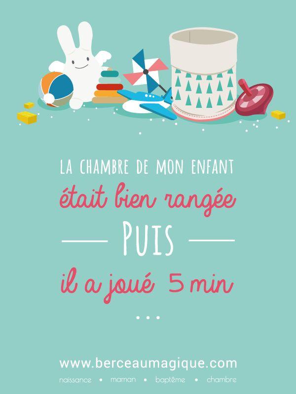Nettoyer, balayer, astiquer... #citation #berceaumagique #rangetachambre #kids #jeux #jouets #chambre