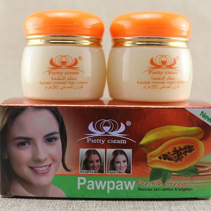 T193  Papaya extract freckle remover day cream and night cream