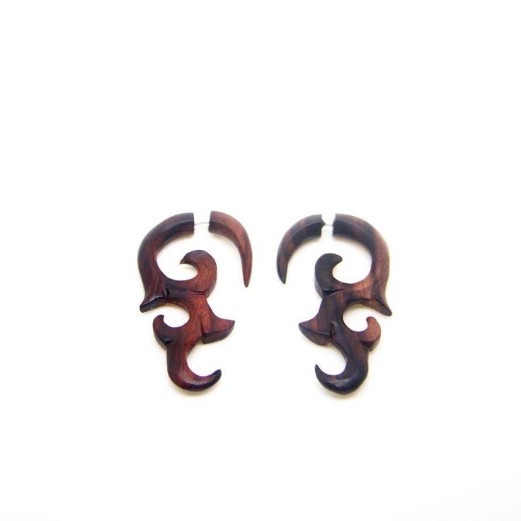 Tribal Gauges Earrings AA022