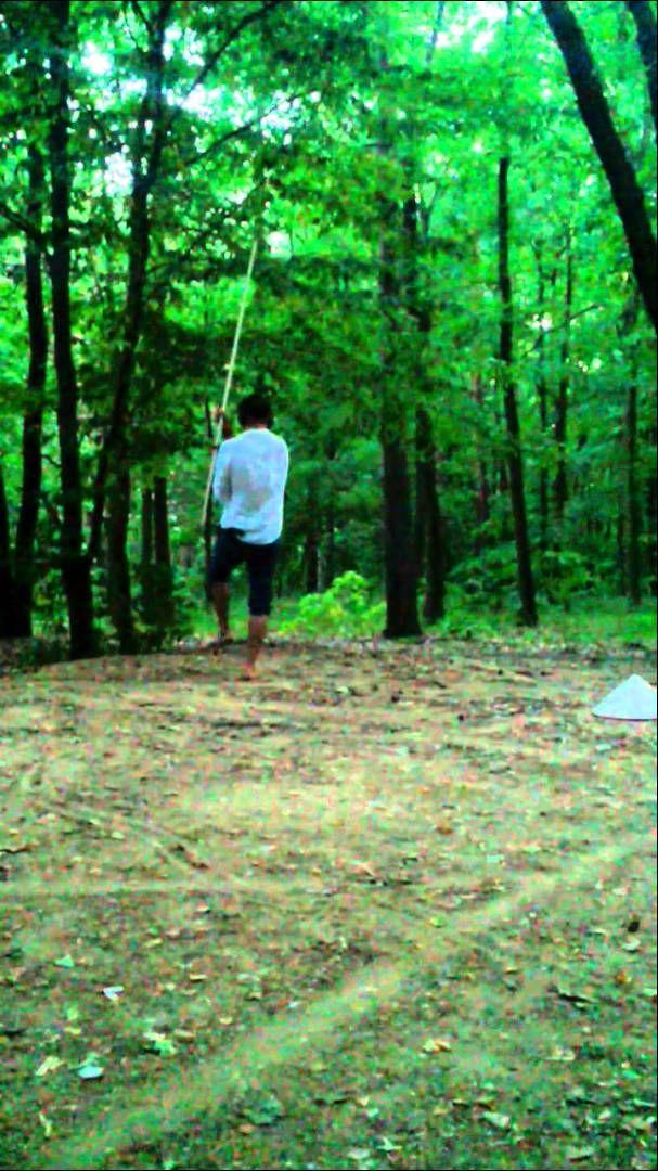 Adam Michal - Martial Arts 04/07/2015 - Forests Troja Prague