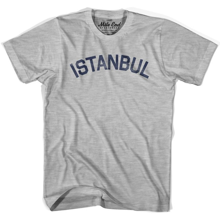 Istanbul City Vintage T-shirt