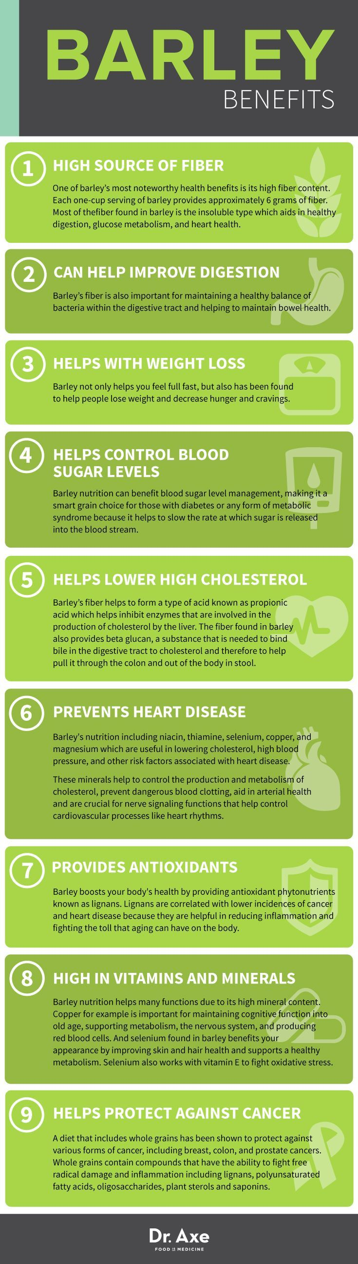 Barley Benefits http://www.draxe.com #health #holistic #natural
