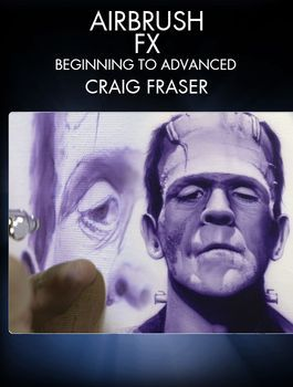 Learn how to airbrush with master artist and painter Craig Fraser (West Coast Choppers, Fender Guitars, Jesse James).