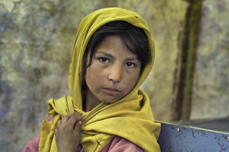 Girl, Afghanistan, by Steve McCurry.