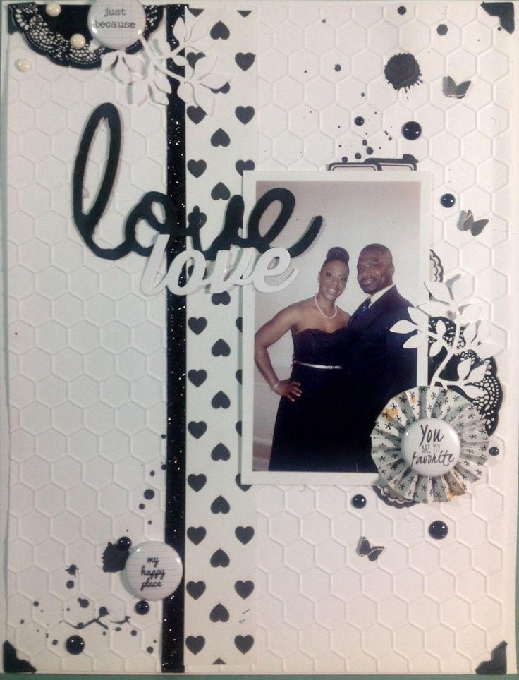 LOVE love - Scrapbook.com