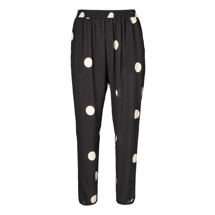Jolene pants - mega dot b/w