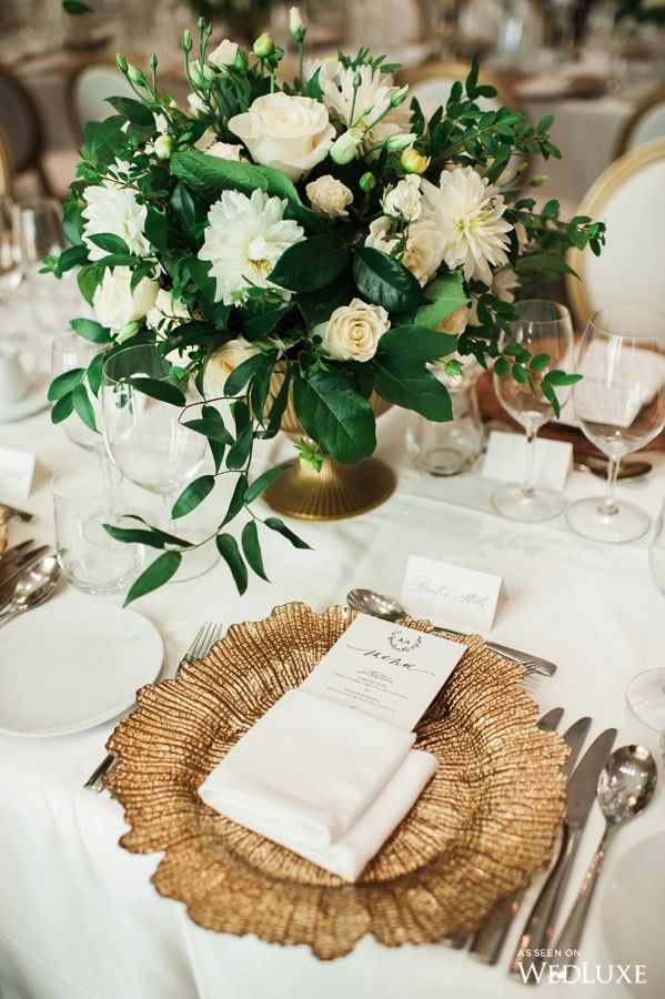 Wedluxe A Classic Wedding Designed By The Bride Photography By