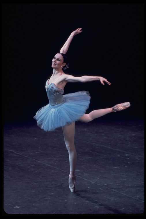 "New York City Ballet production of ""Raymonda Variations"" with Patricia McBride, choreography by George Balanchine (New York)"