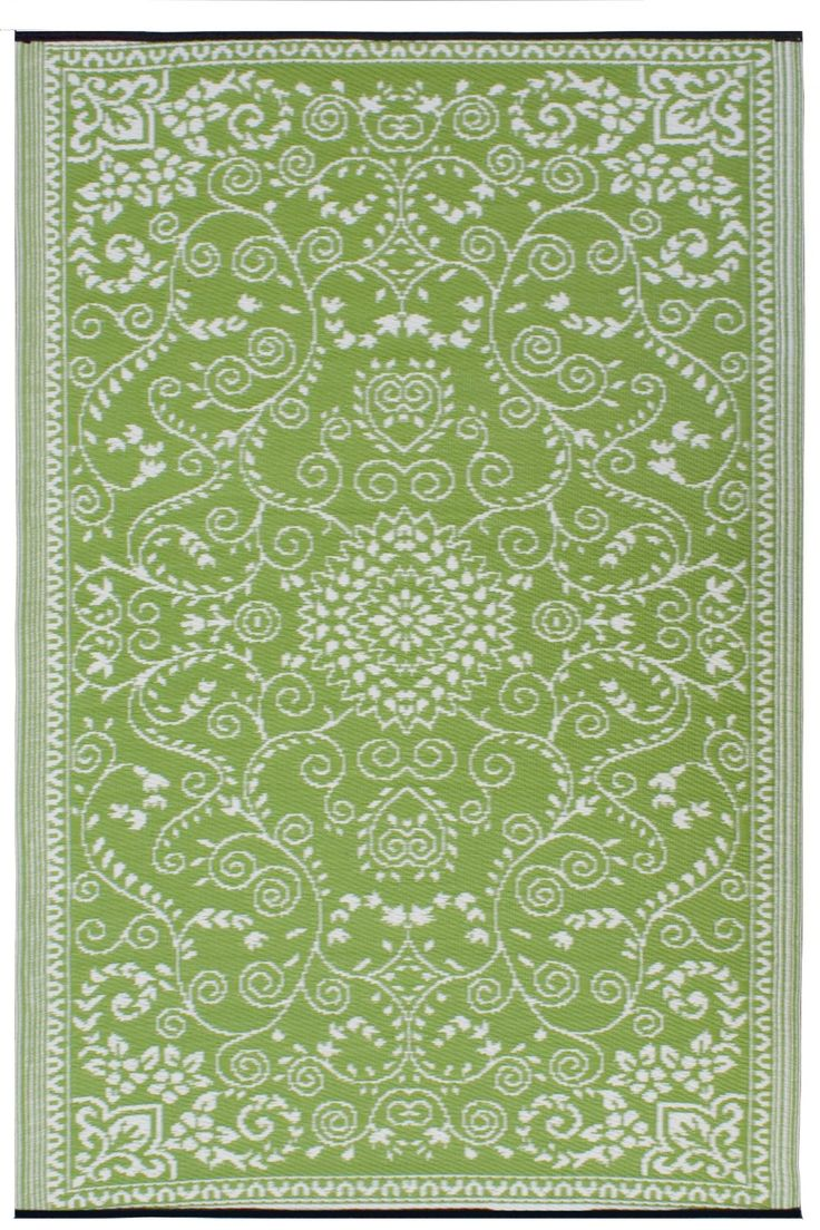 7 Best Green Outdoor Patio Rugs Images On Pinterest