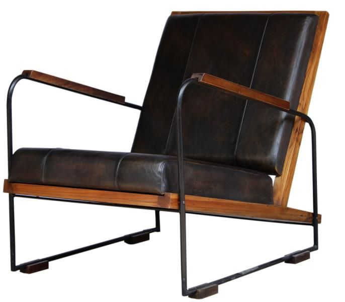 Accent Furniture Direct: New Pacific Direct, Inc. Denka Leather Accent Chair