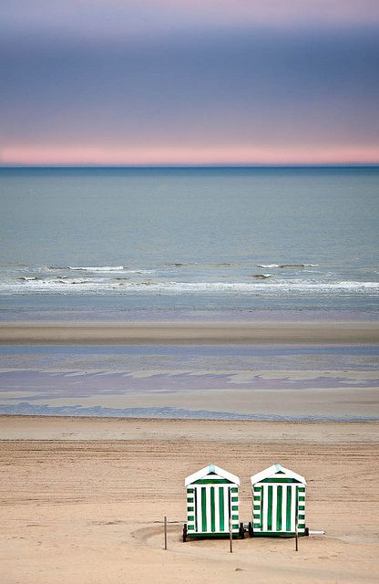 Avec la mer du nord pour dernier terrain vague...