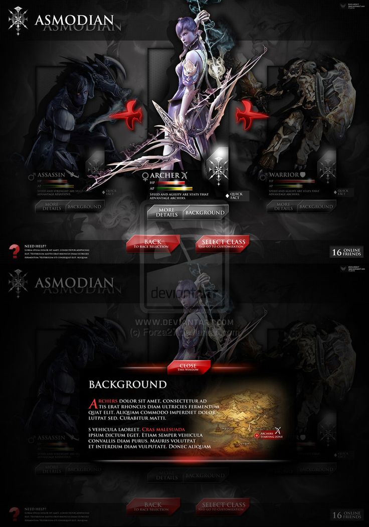 Aion Fake Game UI by Forza27.deviantart.com on @deviantART
