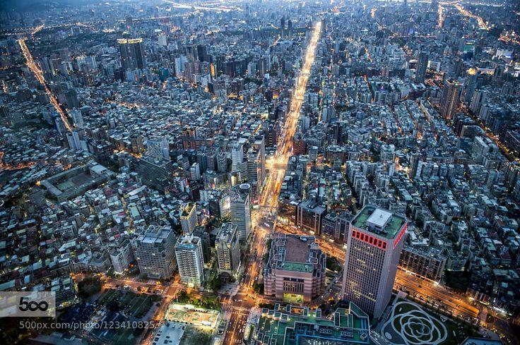 Taipei City by a3784152