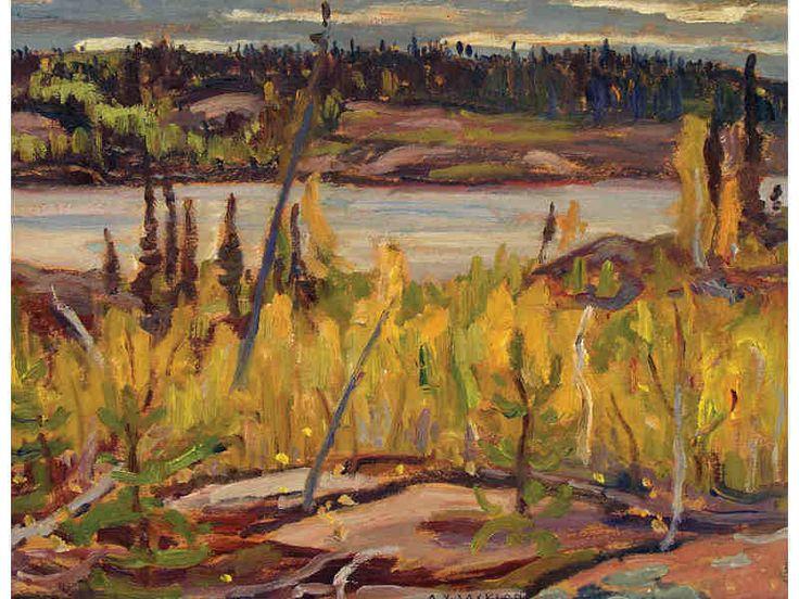 Alexander Young Jackson DOME LAKE, NORTHERN SASKATCHEWAN; 1957