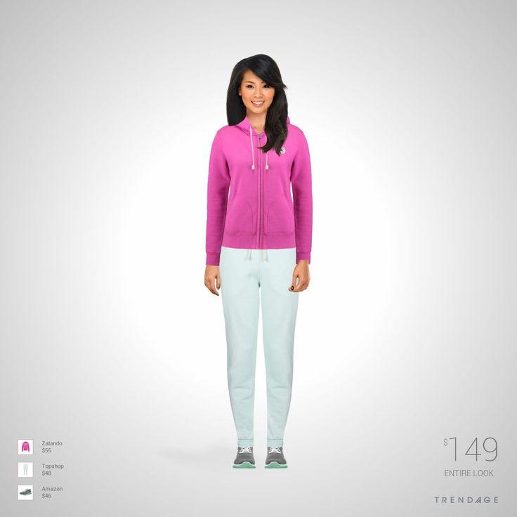 equipo de la manera hecha por Karla Yatziri el uso de ropa de Topshop, Zalando, Amazon