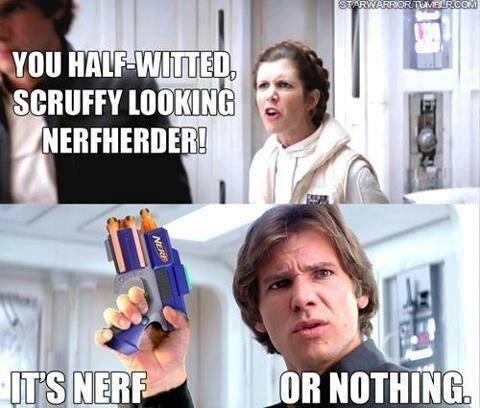 Nerf or nothing! http://www.jedipedia.net/wiki/Nerf