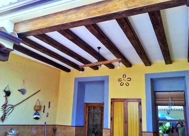 1000 ideas sobre madera de techos con vigas en pinterest - Vigas madera techo ...