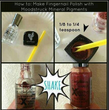 Mineral pigments have so many uses! Looking for that perfect nail color to match your Younique makeup and look? Try this! http://www.youniqueproducts.com/Michellemochal