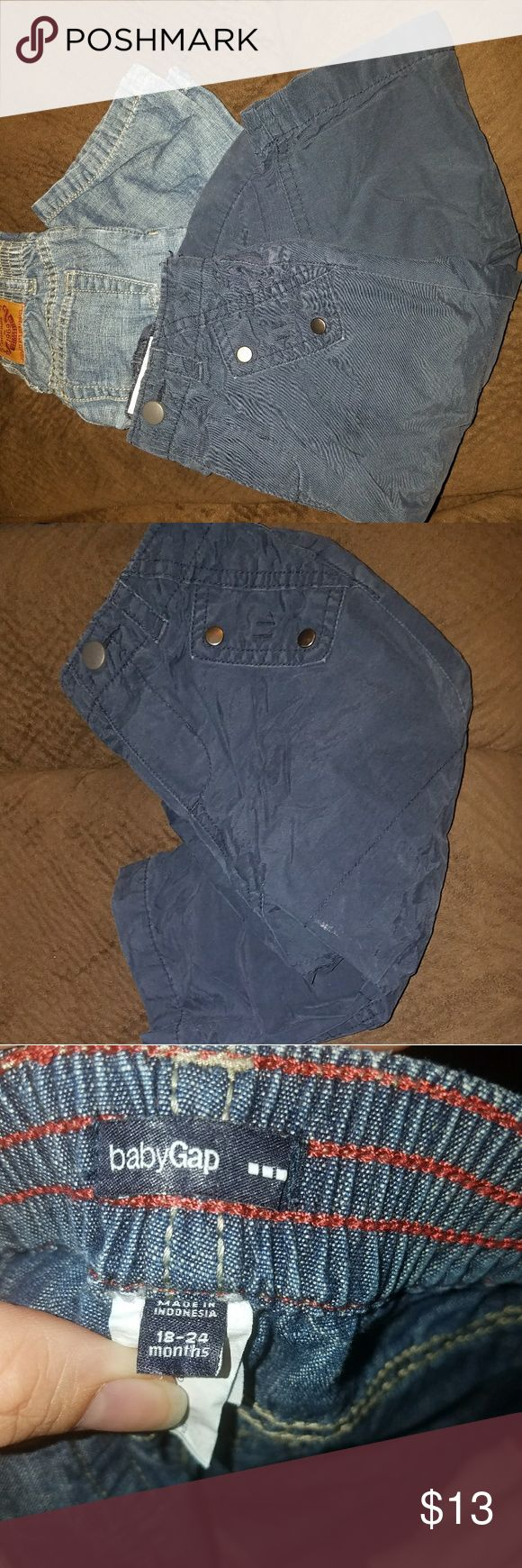 Boy pants Gap 1 jeans & old navy fleece pant Old Navy pants thermal GAP Bottoms Jeans