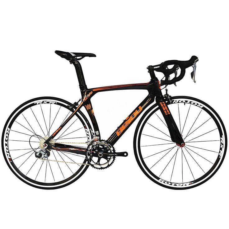 BEIOU® 2016 700C Rennrad Shimano 105 Bike 5800 11S Rennrad T800-M40 Carbon Aero-Rahmen Ultra-light
