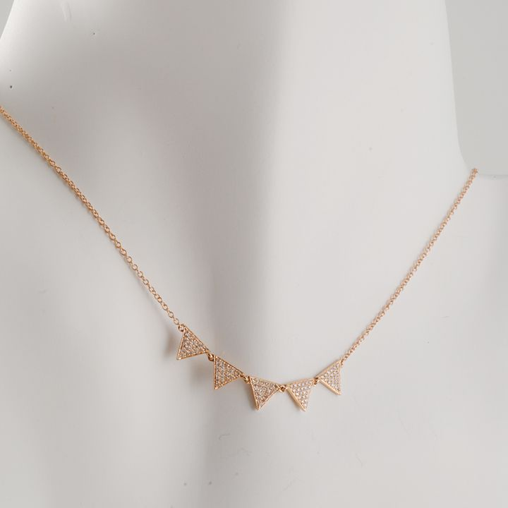 Rose gold and diamonds by CP Collection httpwwwclaypotcom