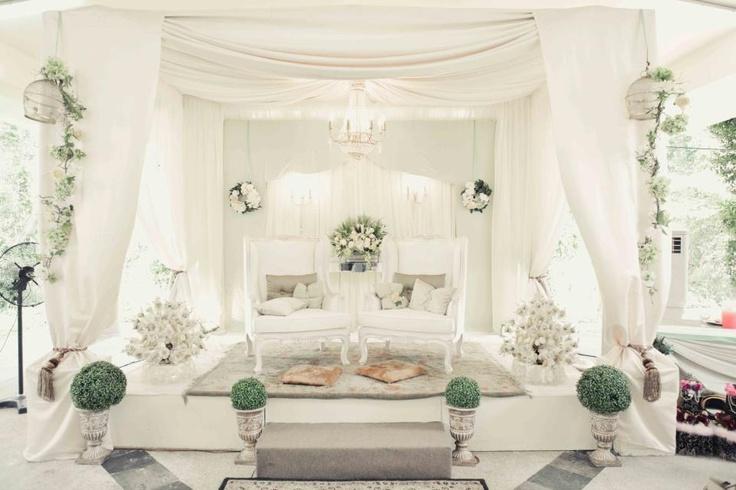 white garden wedding! by jentayu gallery