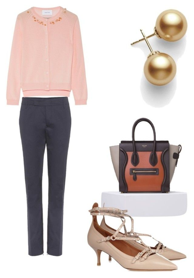 Spring work outfit by the925editor on Polyvore featuring Simone Rocha, Jil Sander and Valentino