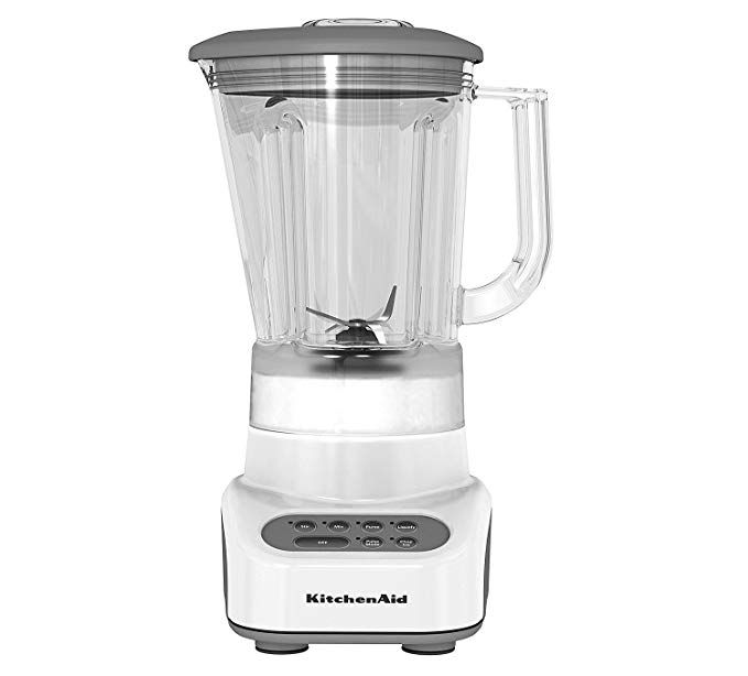 Kitchenaid Ksb465wh 4 Speed Countertop Blender With 48 Ounce Polycarbonate Jar White Review Kitchen Aid Blender Countertops