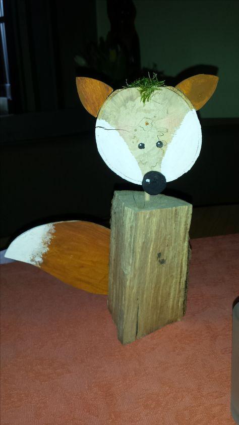 Freddy der Fuchs Bastelanleitung zum selber basteln