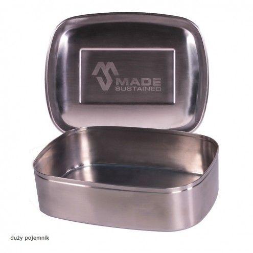 2 stalowe pojemnikina żywność Made Sustained