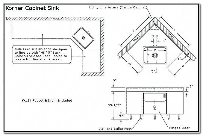 Corner Kitchen Sink Cabinet Dimensions Kitchenfurnituredimensions Corner Sink Kitchen Kitchen Cabinets With Sink Corner Sink
