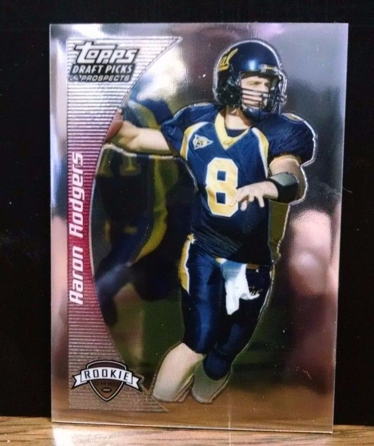 2005 TOPPS DRAFT PICKS AND PROSPECTS CHROME ROOKIE #152 AARON RODGERS #GreenBayPackers