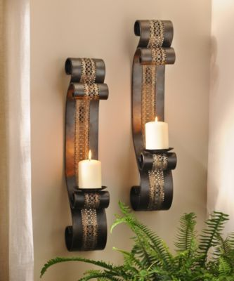 208 best ? WALL SCONES & CANDELS HOLDERS images on Pinterest