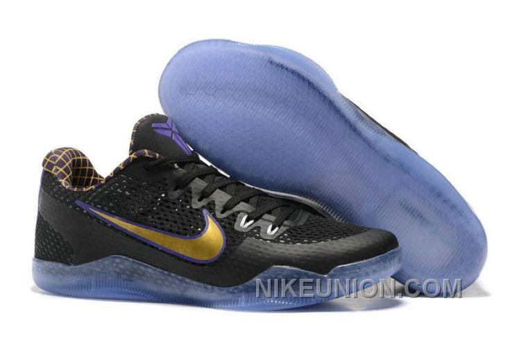 http://www.nikeunion.com/authentic-nike-kobe-11-em-black-gold-purple-best.html AUTHENTIC NIKE KOBE 11 EM BLACK GOLD PURPLE BEST : $68.20