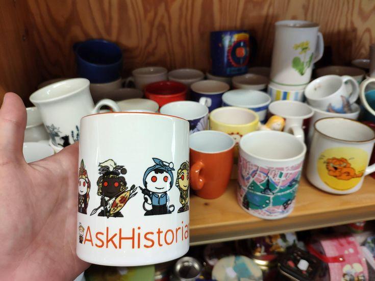 Came across an original reddit raskhistorians mug in