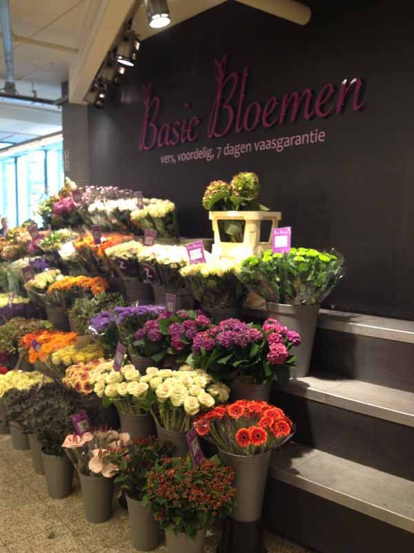 flower shop display