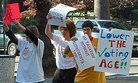 Voting age - Wikipedia, the free encyclopedia