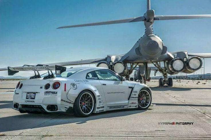 #Nissan GT-R by Liberty Walk