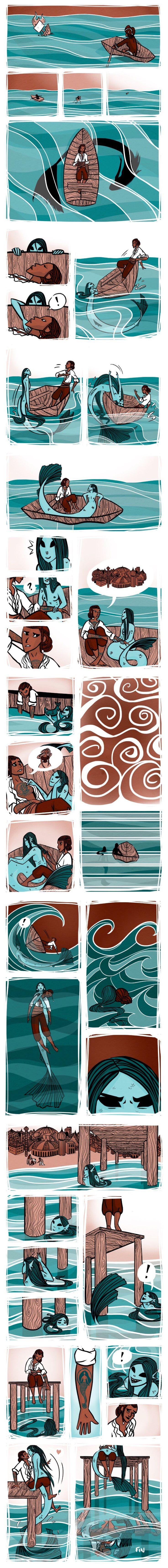 Aww, True love between man and mermaid. 🧜🏻…