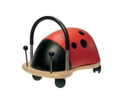 Wheelybug Lieveheersbeestje klein, race met dit lieveheersbeestje door het hele huis! geschikt voor kinderen tussen de 1 en de 4 jaar.  http://www.planethappy.nl/wheelybug-lieveheersbeestje-klein.html