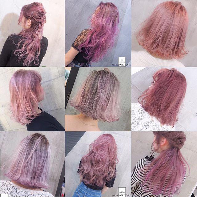 ピンクカラー集⭐️⭐️⭐️ キュートなピンクカラーで、夏を楽しみましょ〜〜〜 担当 MORIYOSHI MORIYOSHIヘア、ヘアカラー集、スタイリング動画などはこちらから→ @moriyoshi0118 随時更新中です〜 #shachu#hair#color#ヘア#ヘアカラー#グラデーションカラー#ハイライト#ピンク