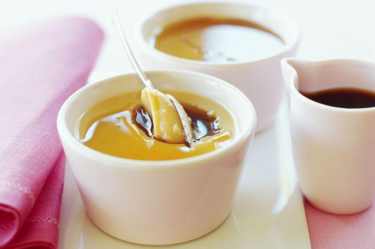 Soy & Maple Creme Caramel