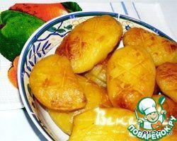 """Рецепт: Запеченный картофель """"Отмороженный"""""""