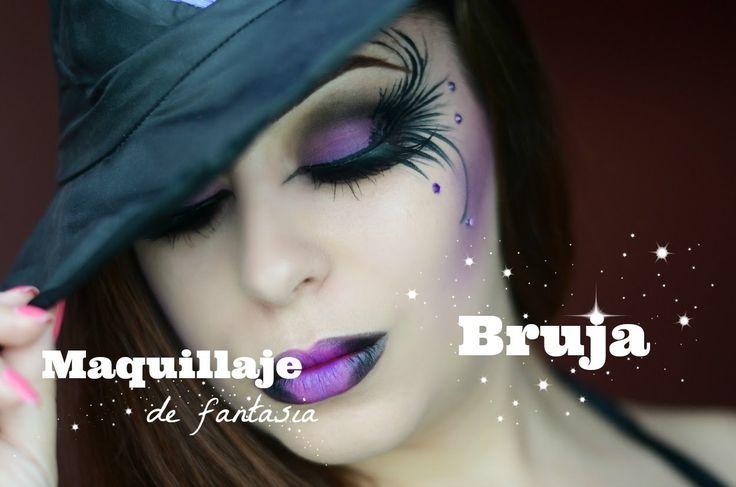 Maquillaje de Bruja ~ RebecaMakeup